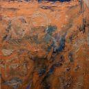 Koperen wasvat | 120 x 90 cm |acrylverf op doek | 2011 | n.a.v Exodus 38:8b